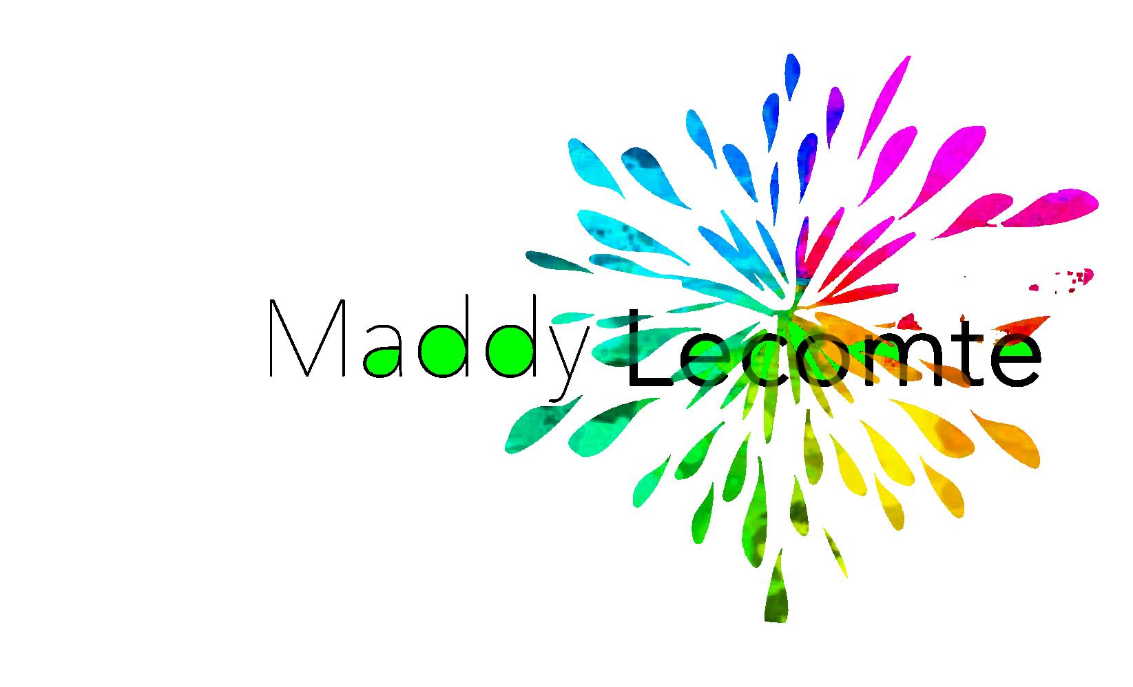 Logo Maddy Lecomte 2020